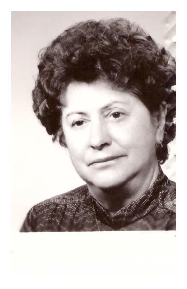 Františka Náplavová - roz. Plášková