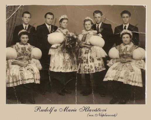 Rudolf a Marie Hlaváčovi, Polešovice