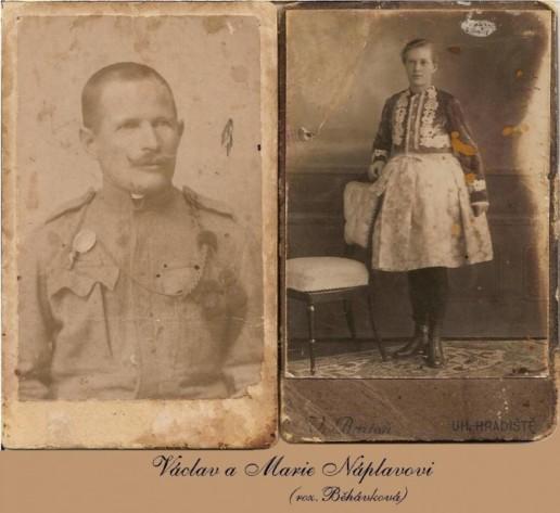 Václav a Marie Náplavovi, Nedakonice