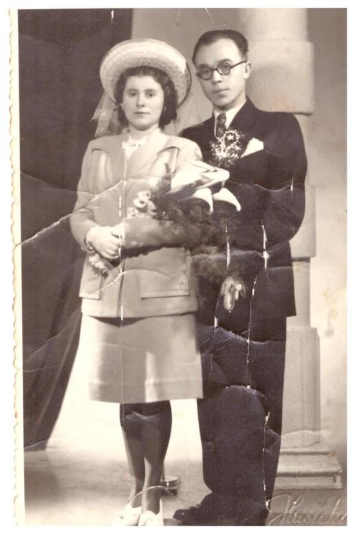 svatba Jaroslava a Františky Náplavových, Zlín